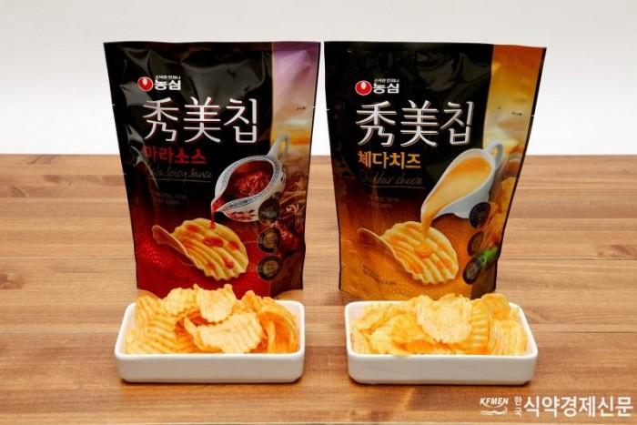 농심 수미칩 마라소스, 체다치즈 (1).jpg