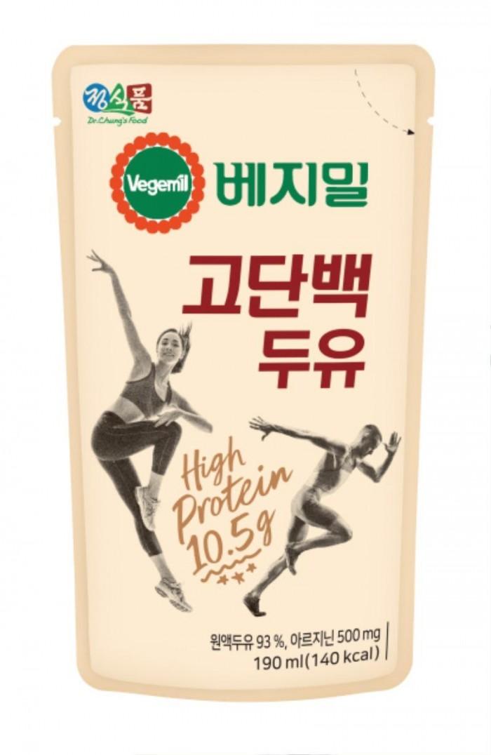 [정식품 사진자료] 정식품, 우유보다 단백질 2배 많은 '베지밀 고단백 두유' 출시_20200324.jpg