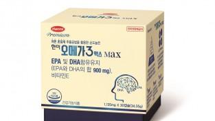 한미약품, 기억력∙혈행 개선 건기식 '한미 오메가3맥스' 출시