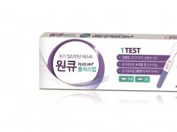 JW중외제약, 조기임신진단 테스트기 '원큐 플러스업' 출시
