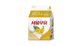 서울우유협동조합, '서울우유 바나나 카톤 300' 신제품 출시