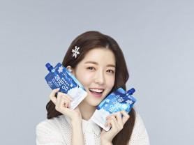 롯데제과 '설레임', 배우 정인선 광고모델 발탁