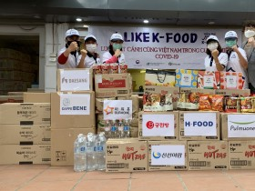 한국식품산업협회, 베트남에서 코로나19 극복을 위한 K-FOOD 기부 실시